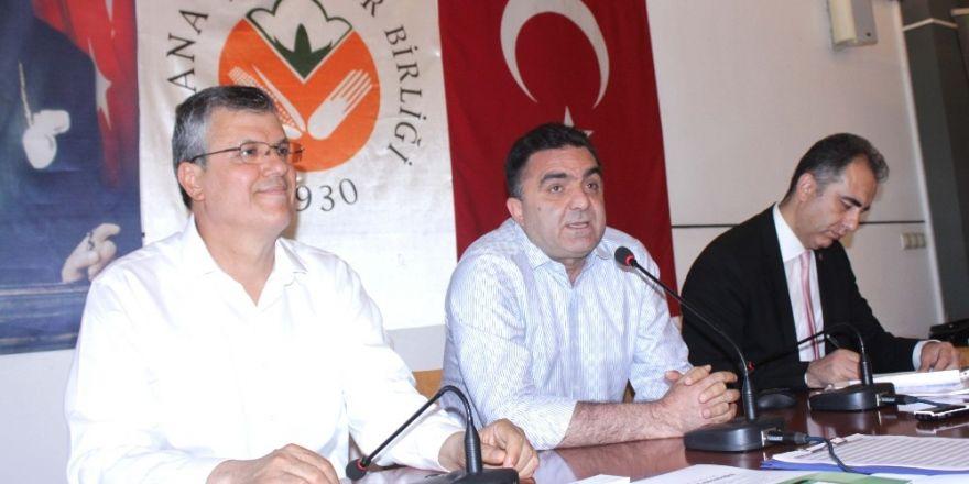 """Doğru: """"Adana'nın tarıma dayalı sanayide teşvik alması gerekir"""""""