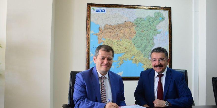 Denizli İŞKUR ile GEKA arasında sözleşme imzalandı