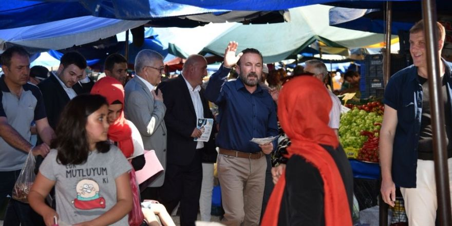 Başkan Doğan, vatandaşları Cumhurbaşkanı'nın mitingine davet etti