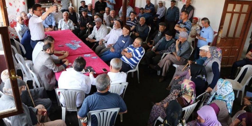 """AK partili Uslu: """"Bizim icraatlarımıza onların hayalleri yetişmez"""""""