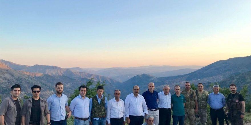 Başkan Dülgeroğlu yol çalışmalarını inceledi