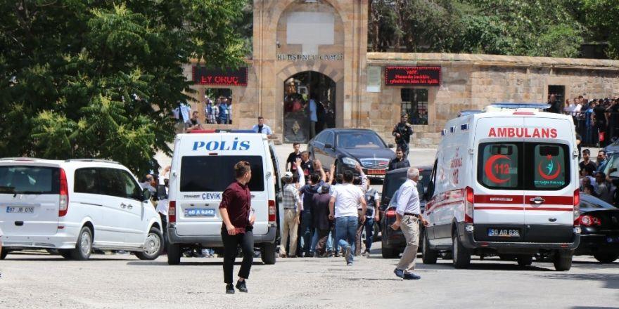 Cumhurbaşkanı Erdoğan cuma namazını Nevşehir'de kıldı