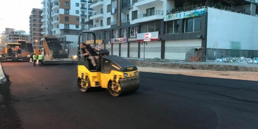 Batman'da İstikbal Caddesi asfaltlandı