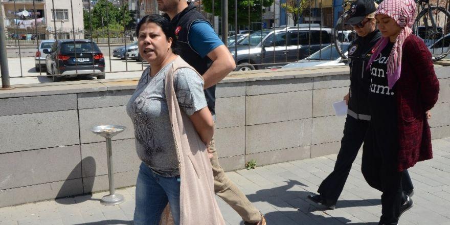 Uyuşturucu taciri kadından şok savunma