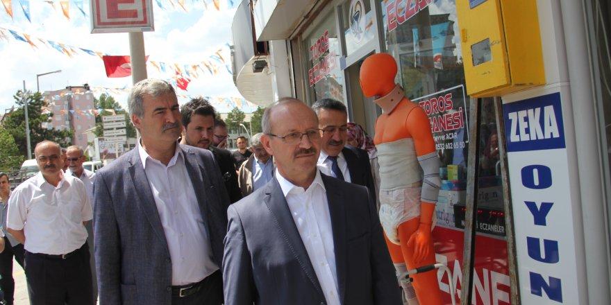 AK Parti Genel Başkan Yardımcısı Sorgun Seydişehir'de