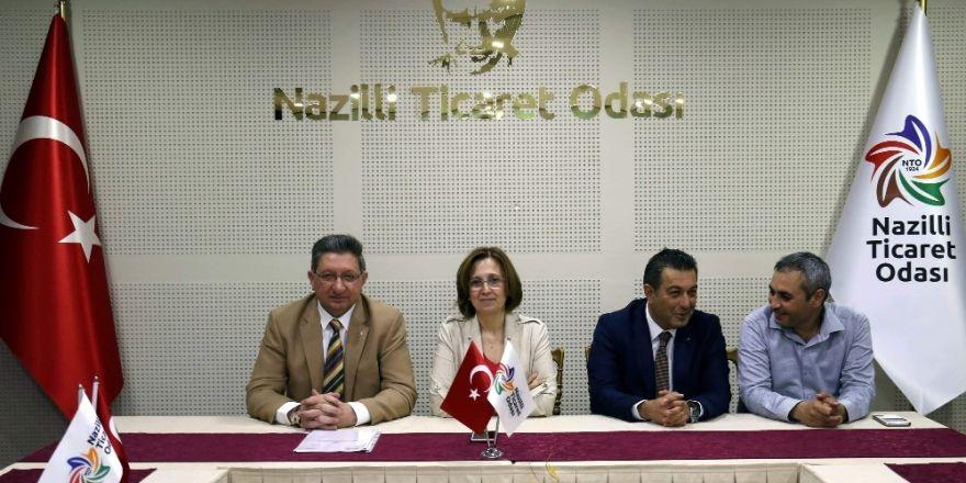 MHP Genel Başkan Yardımcısı Depboylu'dan Nazilli Ticaret Odası'na ziyaret