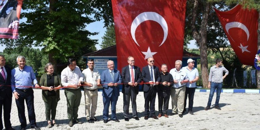 TESKİ Malkara yeni içme suyu tesislerini devreye aldı