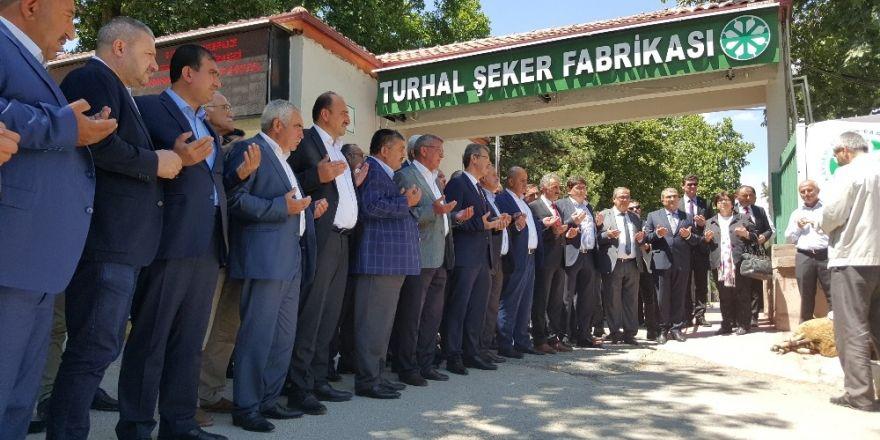 """Başkan Akay: """"Turhal Şeker Fabrikasını daha çok geliştireceğiz"""""""