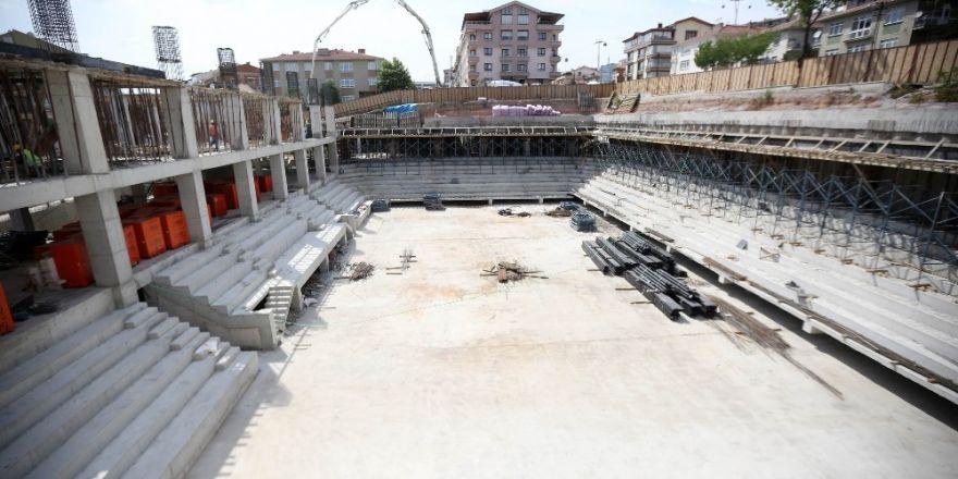 Gazi Mustafa Kemal Atatürk Spor Merkezi açılışa gün sayıyor