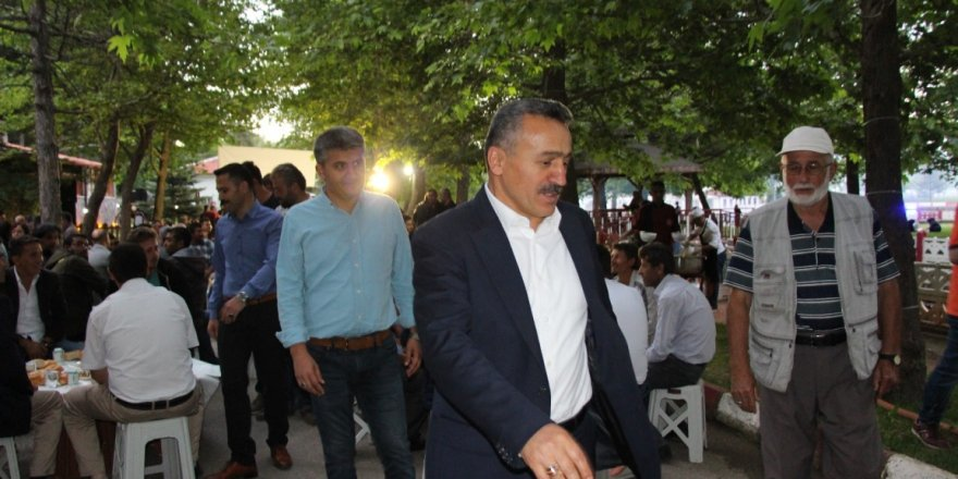 Başkan Tutal, personelle iftar yemeğinde buluştu