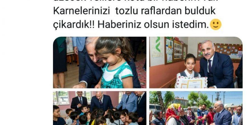 Vali Zorluoğlu'ndan, velilere esprili gönderme
