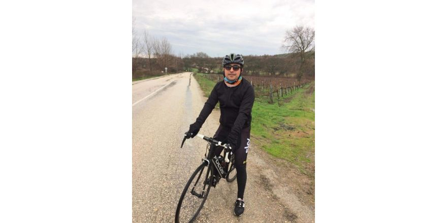 Banka müdürü bisiklet kazasında öldü