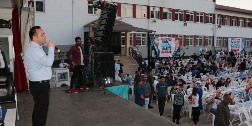 AK Partili Ağar, seçim çalışmalarını sürdürüyor