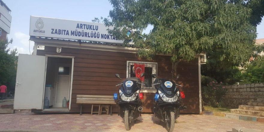 Motosikletli zabıta timleri Artuklu'da göreve başladı