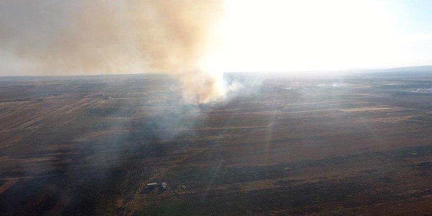YPG/PKK Tel Rıfatlıların ev ve arazilerini yakıyor