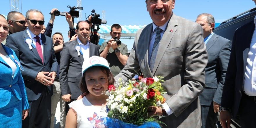 Bakan Tüfenkci, Fırat Gümrük ve Ticaret Bölge Müdürlüğü'nün açılışını yaptı