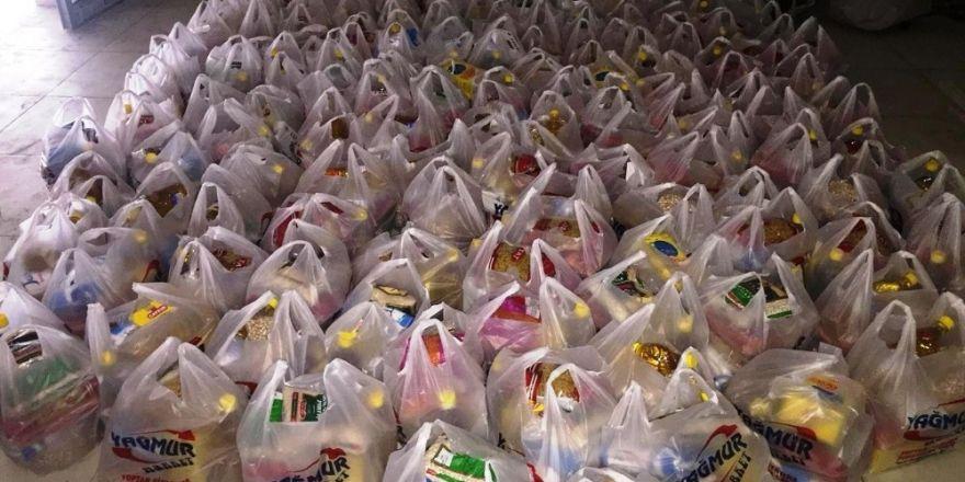 Bismilli iş adamından 200 aileye ramazan yardımı