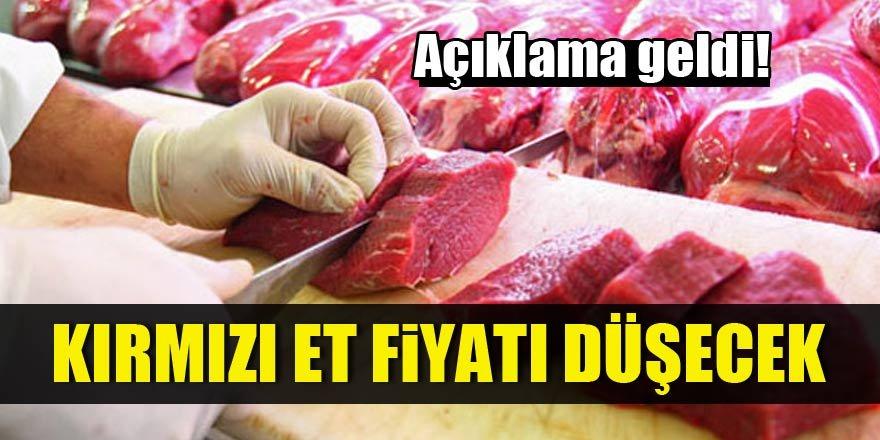 Kırmızı et fiyatı düşecek