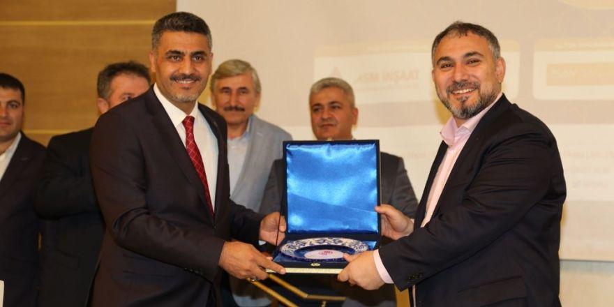 ÇEDAŞ Genel Müdürü Akboğa, Mimar ve Mühendisler Grubu temsilcisi oldu