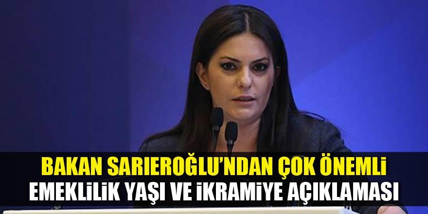 Bakan Sarıeroğlu'ndan ikramiye açıklaması!