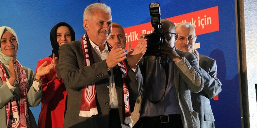 Başbakan Yıldırım: 24 Haziran yeni bir dönemin başlangıcı olacak
