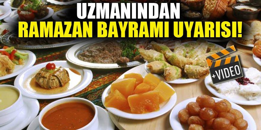 Uzmanlardan, Ramazan bayramı uyarısı