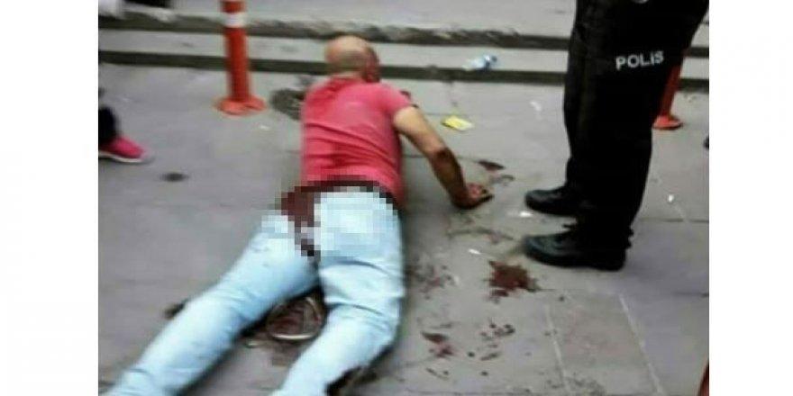 Ankara'da dehşet! Kızını taciz eden adamı sokak ortasında hadım etti