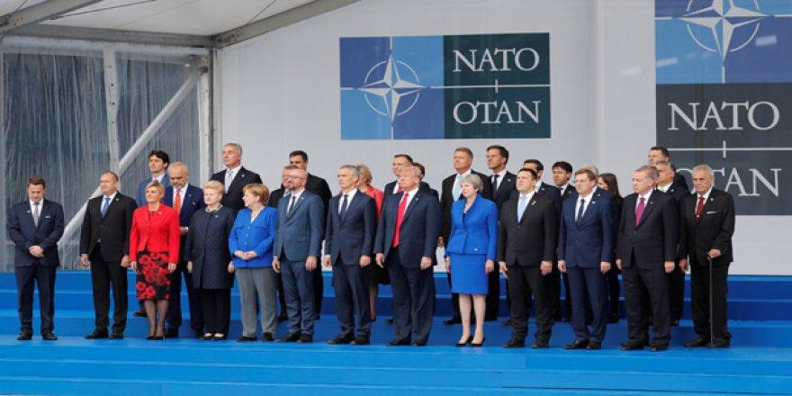 Kritik NATO zirvesi başlıyor! Başkan Erdoğan aile fotoğrafında...
