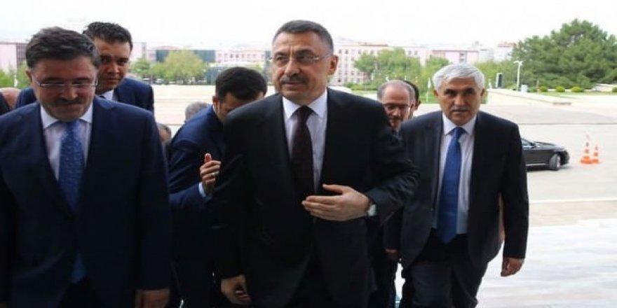 Başkan Yardımcısı Fuat Oktay'a ilk görev