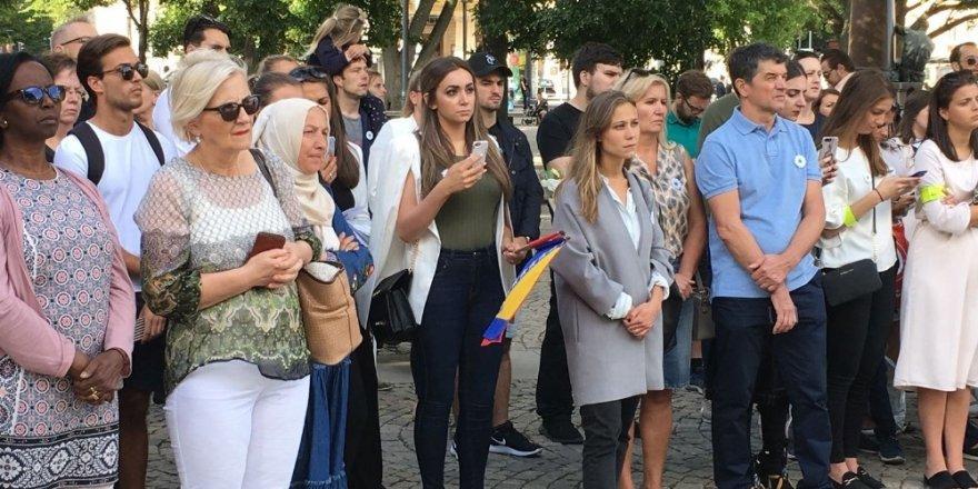 Srebrenitsa soykırımının kurbanları Stockholm'de anıldı