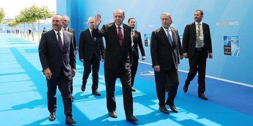 Turkish president attends NATO summit in Brussels
