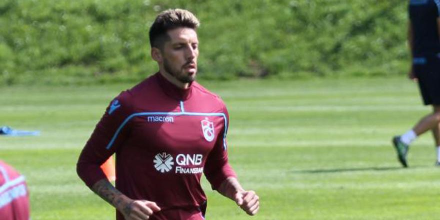 Trabzonspor'da Sosa takımla çalışmalara başladı
