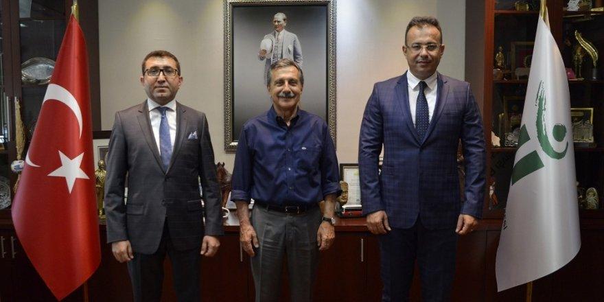 Elagöz'den Başkan Ataç'a ziyaret
