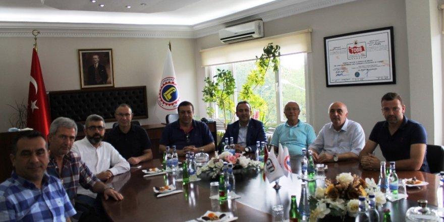 TRAKYAKA Genel Sekreteri Şahin, Lüleburgaz TSO ile görüştü