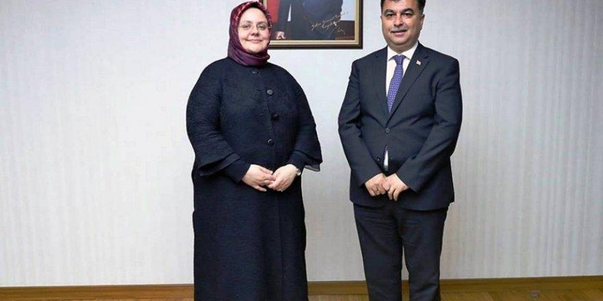 Başkan Kılıç'tan hemşerisi Bakan Selçuk'a ziyaret