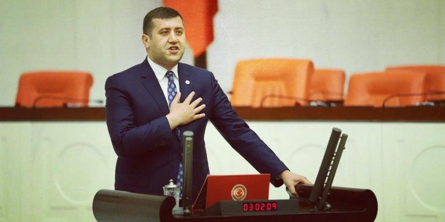 """MHP Milletvekili Ersoy, """"İlçeleri kaderine terk etmeyeceğiz"""""""
