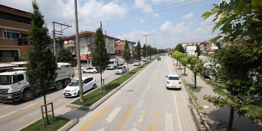 Sakarbaba Caddesi yenileniyor