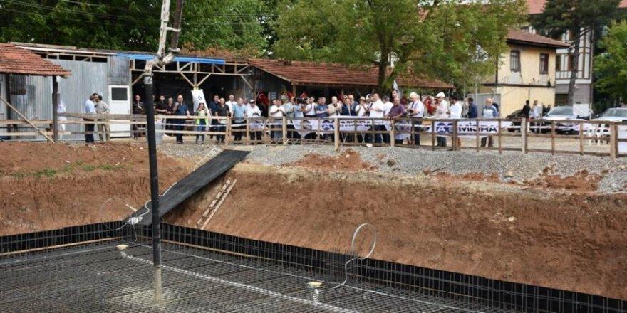 Safranbolu Leyla Dizdar Kültür Merkezinin temeli atıldı