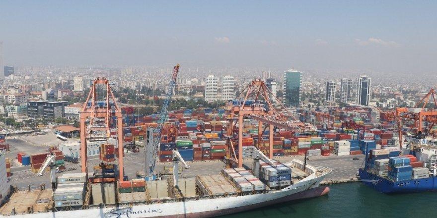 Mersin Limanı'nda yük trafiği mayıs ayında yüzde 19 arttı