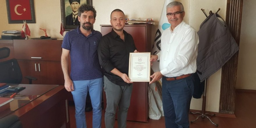 Türk Kızılayı'ndan bağışçılara teşekkür belgesi