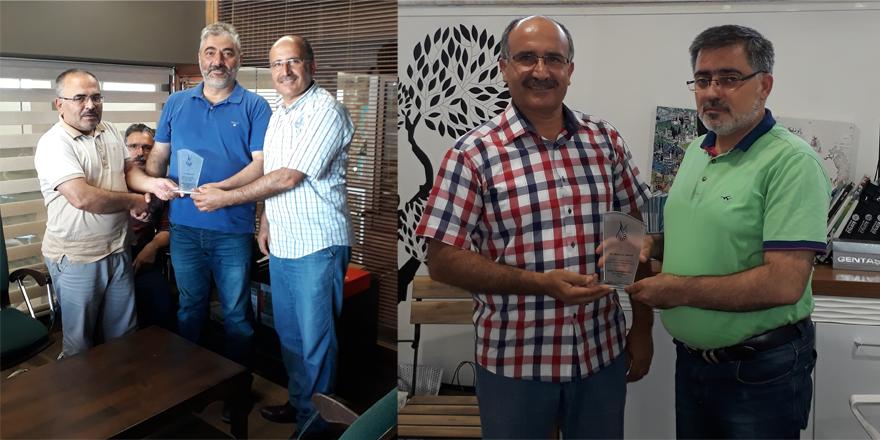 Mahmut Sami Ramazanoğlu Anadolu İHL'den Akkaya ve Kulu'ya teşekkür