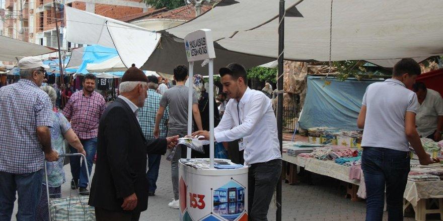 Çözüm Masası Birimi ilçelerde vatandaşlarla buluşuyor