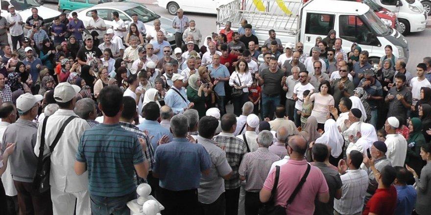 Kulu'da 38 kişilik hacı kafilesi dualarla uğurlandı