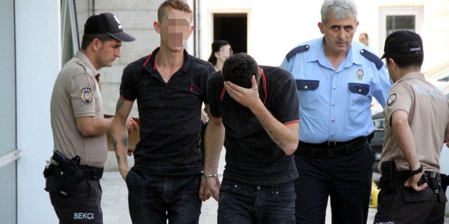 Samsun'da kablo çaldıkları iddia edilen 2 kişi tutuklandı