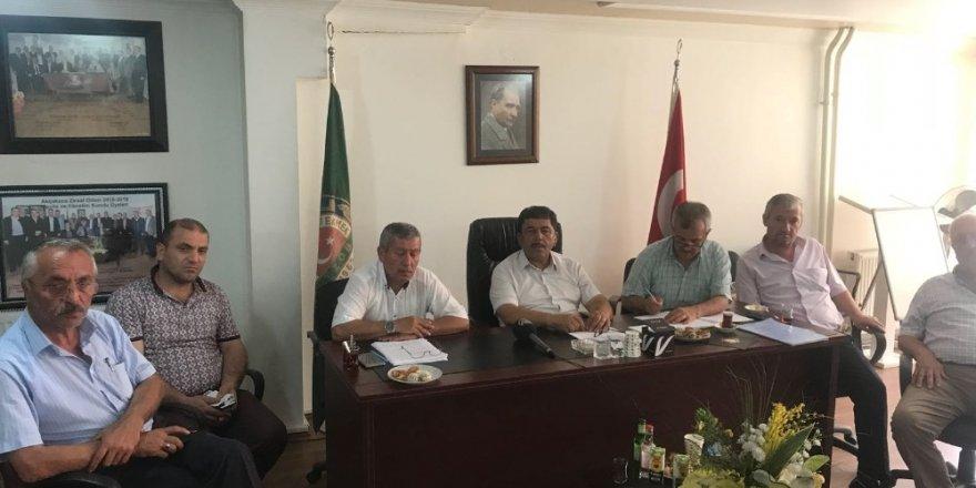 Ziraat odası başkanları Akçakoca'da toplandı