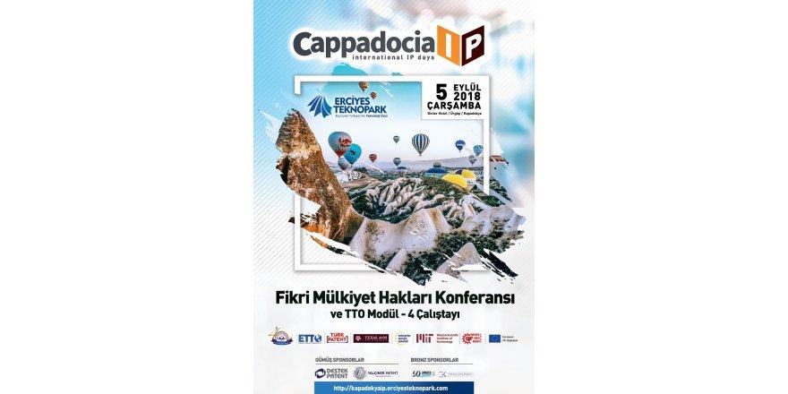 'Kapadokya Uluslararası IP Günleri 2018'in 3'üncüsü yapılacak