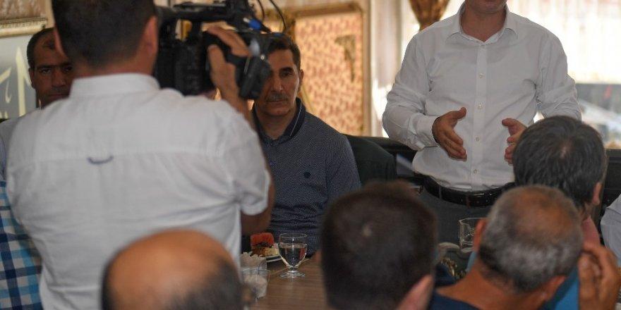 Başkan Çınar'dan Akpınar'a ziyaret