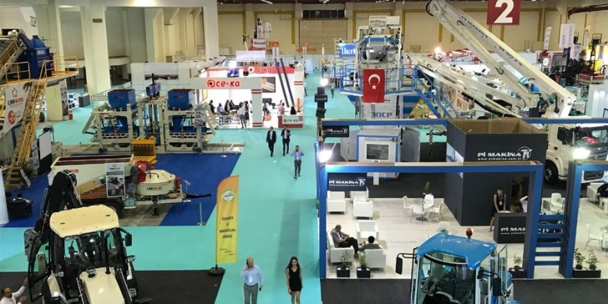İş makinaları sektörünün kalbi Antalya'da atacak