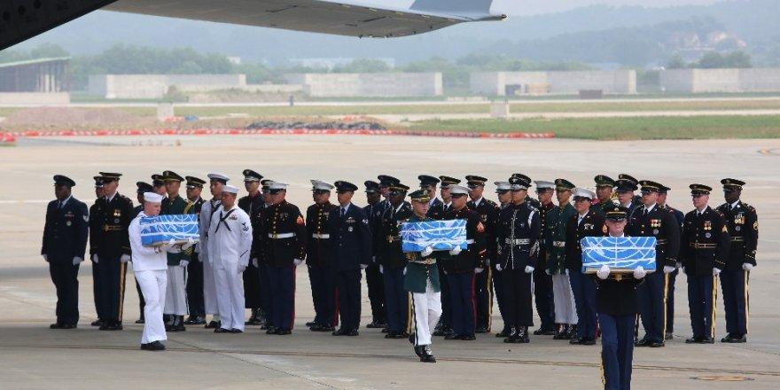 ABD, Kuzey Kore'deki savaş kalıntılarını alıyor