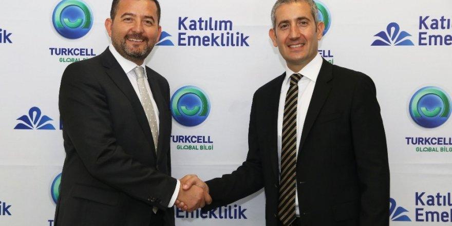 Turkcell Global Bilgi ve Katılım Emeklilik'ten önemli işbirliği
